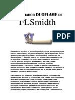 EL QUEMADOR DUOFLAME DE FLSmidth