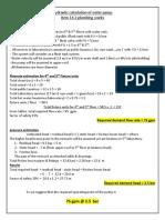 pump calculations
