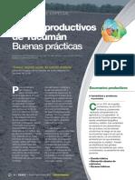 Suelos productivos de Tucumán. Buenas prácticas