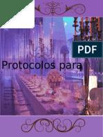 Protocolos para cena de gala (Trabajo)