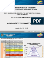 Componentes Geomorfológicos
