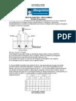 Físico-Química - Pilhas (20 questões)