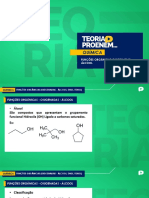 1 - TEORIA PROENEM - Função Orgânica Oxigenada - Álcool