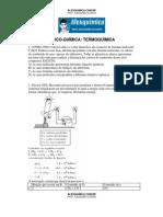 Físico-Química - Termoquímica (30 questões)