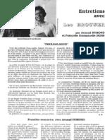 Arnaud Dumond - Entretiens Avec Brouwer I