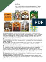 Resumen de La Semana Santa