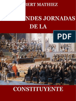 Las Grandes Jornadas de La Constituyente, Albert Mathiez
