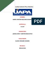 TAREA  4 DE LEGISLACION Y GESTION EDUCATIVA DE MARIA CRISTINA.docx