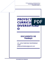 15 Proyecto Curricular Diversificado Gaby