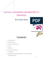 Gender Economics Perspective in Romania.CB