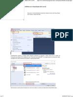 1. Pasos para crear un sitio web ASP.Net