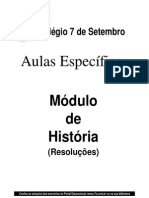 História - Pré-Vestibular7 - Aulas Específicas