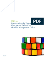 Transforming the Program Management Office into a Result management office