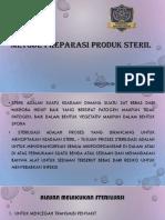 4. metode preparasi produk steril