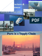 Lecture 6,27 Nov 2010, Port Infrastructure and Shipping Business