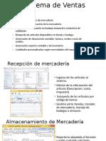 presentacion sistema ventas