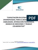 MANUAL DE CAPACITACION EN ESTRATEGIAS DIVERSIFICADAS PARA EL DESARROLLO DE HABILIDADES...