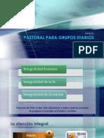 1, Pastoral a Grupos Etarios