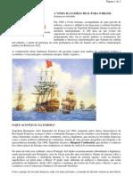 História Geral - portaltosabendo - A Vinda da Família Real para o Brasil