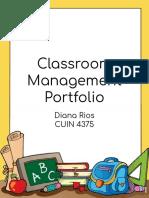 classroom management plan - diana rios