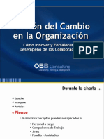 MODELOS CAMBIANTES DE ORGANIZACIONES