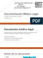 Documentación médico legal