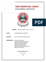 Aditivos para el desarrollo de concretos.