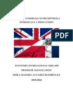 Comercio Bilateral entre República Dominicana y Reino Unido (2)