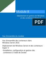 08-Déploiement et gestion des conteneursWindows et Hyper-V