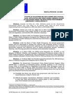 GPPB Resolution No. 05-2020