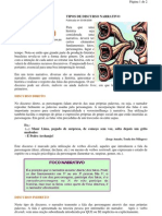 Língua Portuguesa - portaltosabendo - Tipos de Discursos Narrativos