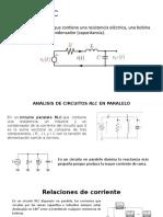 ANÁLISIS DE CIRCUITOS RLC EN PARALELO