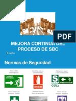 1. MEJORA CONTINUA DEL PROCESO DE SBC