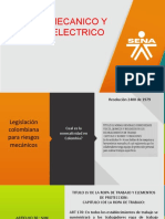 diapositivas riesgos mecanicos y electricos