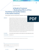 A Conceptual Model of Customer