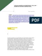 Cappelletti Civil law y common law