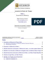 Ataurima-Arellano M. (2016ii). 001. Ecuaciones en Diferencia (UNMSM)