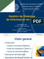 Gestión de sistemas de información en Salud
