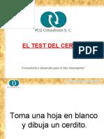 EL TEST DEL CERDITO