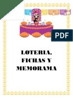 LOTERIA, MEMORAMA, FICHAS DIA DE               MUERTOS (1)