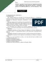 NTCSE(Norma Técnica Calidada de Suministro Eléctrico)