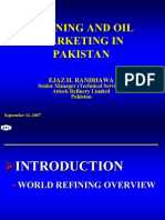 Refining and Marketing of Oil in Pakistan- Ejaz Randhawa- Attock Oil Refinery