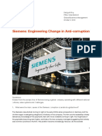 Global Business Environment SIEMENS Analysis