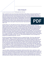 Letter of Antony II