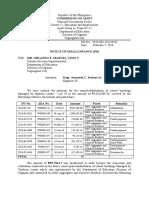 ND No. 2020-003 DepEd  DO Cagayan Lot 34 Lawin Peñablanca, Cagayan reviewed