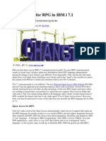 Big Changes for RPG in IBM i 7.1