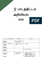 RPT SAINS TAHUN 1 2020