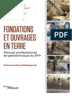 2019 - Fondations et Ouvrages en Terre - Philiponnat