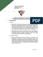 ( NASKAH SEMENTARA ) PEDOMAN STANDAR OPERASIONAL PROSEDUR (SOP) PROPAM POLRI TENTANG SENTRA PELAYANAN PROPAM (BUKU I)