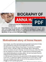 peace assignment _ppt of biography(ADITI ANAND) 006 TY-BBA